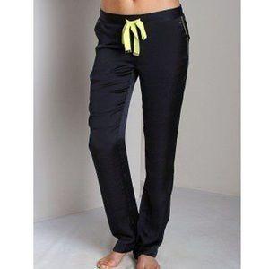 JUICY COUTURE Regal Satin Pants Lounge Pajama Blue